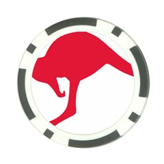 Australian Army Vehicle Insignia Poker Chip Card Guard