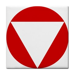 Roundel Of Austrian Air Force  Tile Coasters