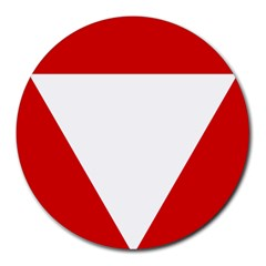 Roundel Of Austrian Air Force  Round Mousepads