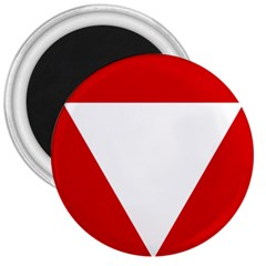 Roundel Of Austrian Air Force  3  Magnets