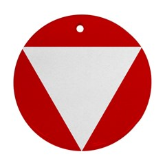 Roundel Of Austrian Air Force  Ornament (round)
