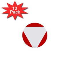 Roundel Of Austrian Air Force  1  Mini Buttons (10 Pack)