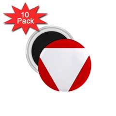 Roundel Of Austrian Air Force  1 75  Magnets (10 Pack)