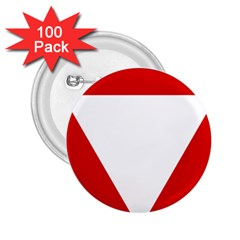 Roundel Of Austrian Air Force  2 25  Buttons (100 Pack)