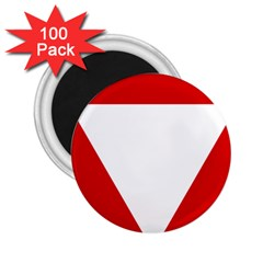 Roundel Of Austrian Air Force  2 25  Magnets (100 Pack)
