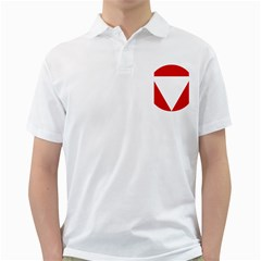 Roundel Of Austrian Air Force  Golf Shirts