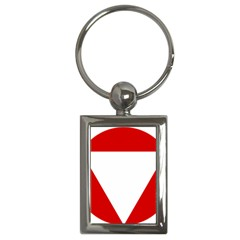 Roundel Of Austrian Air Force  Key Chains (rectangle)