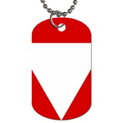 Roundel Of Austrian Air Force  Dog Tag (one Side)