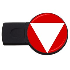 Roundel Of Austrian Air Force  Usb Flash Drive Round (2 Gb)
