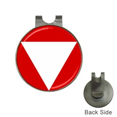 Roundel Of Austrian Air Force  Hat Clips With Golf Markers