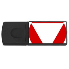 Roundel Of Austrian Air Force  Rectangular Usb Flash Drive