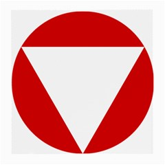 Roundel Of Austrian Air Force  Medium Glasses Cloth (2 Side)