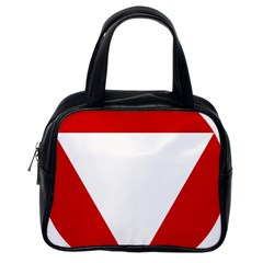Roundel Of Austrian Air Force  Classic Handbags (one Side)