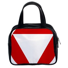 Roundel Of Austrian Air Force  Classic Handbags (2 Sides)