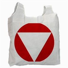Roundel Of Austrian Air Force  Recycle Bag (two Side)