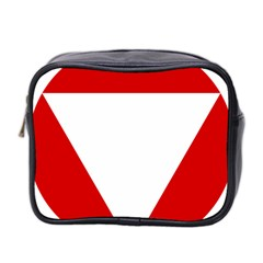 Roundel Of Austrian Air Force  Mini Toiletries Bag 2 Side