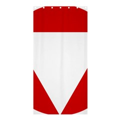 Roundel Of Austrian Air Force  Shower Curtain 36  X 72  (stall)
