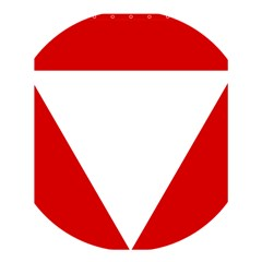 Roundel Of Austrian Air Force  Shower Curtain 60  X 72  (medium)