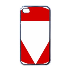 Roundel Of Austrian Air Force  Apple Iphone 4 Case (black)