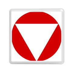 Roundel Of Austrian Air Force  Memory Card Reader (square)