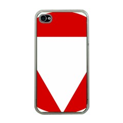 Roundel Of Austrian Air Force  Apple Iphone 4 Case (clear)