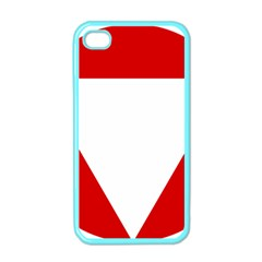 Roundel Of Austrian Air Force  Apple Iphone 4 Case (color)