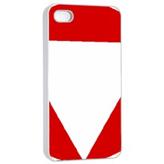 Roundel Of Austrian Air Force  Apple Iphone 4/4s Seamless Case (white)