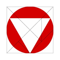 Roundel Of Austrian Air Force  Acrylic Tangram Puzzle (6  X 6 )