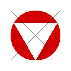 Roundel Of Austrian Air Force  Acrylic Tangram Puzzle (4  X 4 )