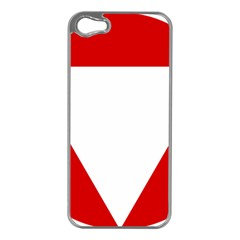 Roundel Of Austrian Air Force  Apple Iphone 5 Case (silver)
