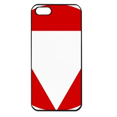 Roundel Of Austrian Air Force  Apple Iphone 5 Seamless Case (black)