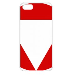 Roundel Of Austrian Air Force  Apple Iphone 5 Seamless Case (white)
