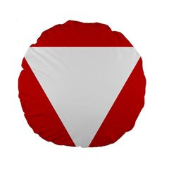 Roundel Of Austrian Air Force  Standard 15  Premium Round Cushions