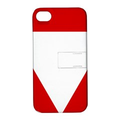 Roundel Of Austrian Air Force  Apple Iphone 4/4s Hardshell Case With Stand