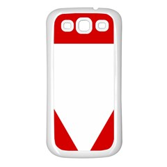 Roundel Of Austrian Air Force  Samsung Galaxy S3 Back Case (white)