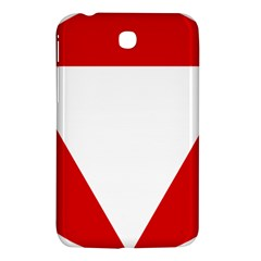 Roundel Of Austrian Air Force  Samsung Galaxy Tab 3 (7 ) P3200 Hardshell Case