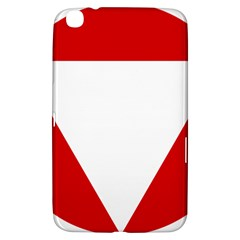 Roundel Of Austrian Air Force  Samsung Galaxy Tab 3 (8 ) T3100 Hardshell Case