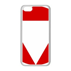 Roundel Of Austrian Air Force  Apple Iphone 5c Seamless Case (white)