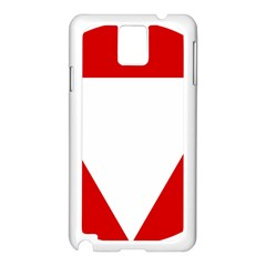 Roundel Of Austrian Air Force  Samsung Galaxy Note 3 N9005 Case (white)