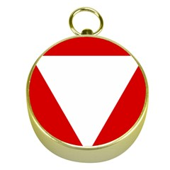 Roundel Of Austrian Air Force  Gold Compasses