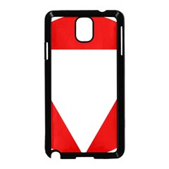 Roundel Of Austrian Air Force  Samsung Galaxy Note 3 Neo Hardshell Case (black)
