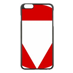 Roundel Of Austrian Air Force  Apple Iphone 6 Plus/6s Plus Black Enamel Case