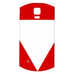 Roundel Of Austrian Air Force  Galaxy Note 4 Back Case