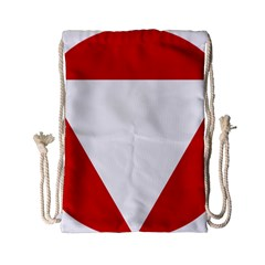 Roundel Of Austrian Air Force  Drawstring Bag (small)