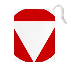 Roundel Of Austrian Air Force  Drawstring Pouches (extra Large)