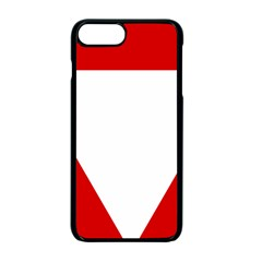 Roundel Of Austrian Air Force  Apple Iphone 7 Plus Seamless Case (black)