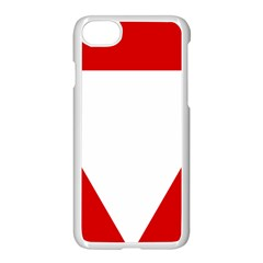 Roundel Of Austrian Air Force  Apple Iphone 8 Seamless Case (white)