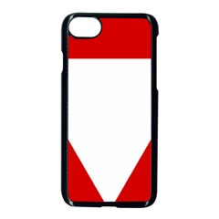Roundel Of Austrian Air Force  Apple Iphone 8 Seamless Case (black)