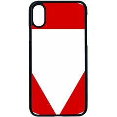 Roundel Of Austrian Air Force  Apple Iphone X Seamless Case (black)