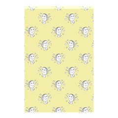 Cute Kids Drawing Motif Pattern Shower Curtain 48  X 72  (small)  by dflcprints